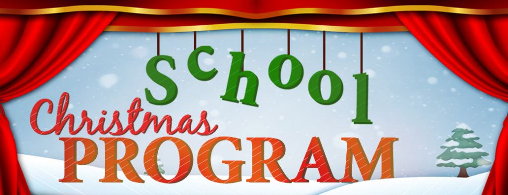 Winter Program:  December 19th @ 1:00 pm