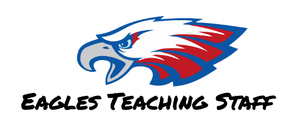 Eagle image with Teaching Staff text below