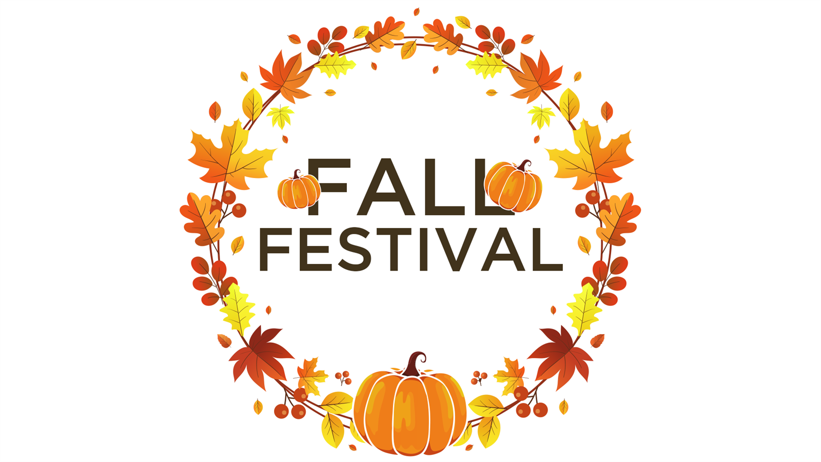 Fall Festival FRIDAY!