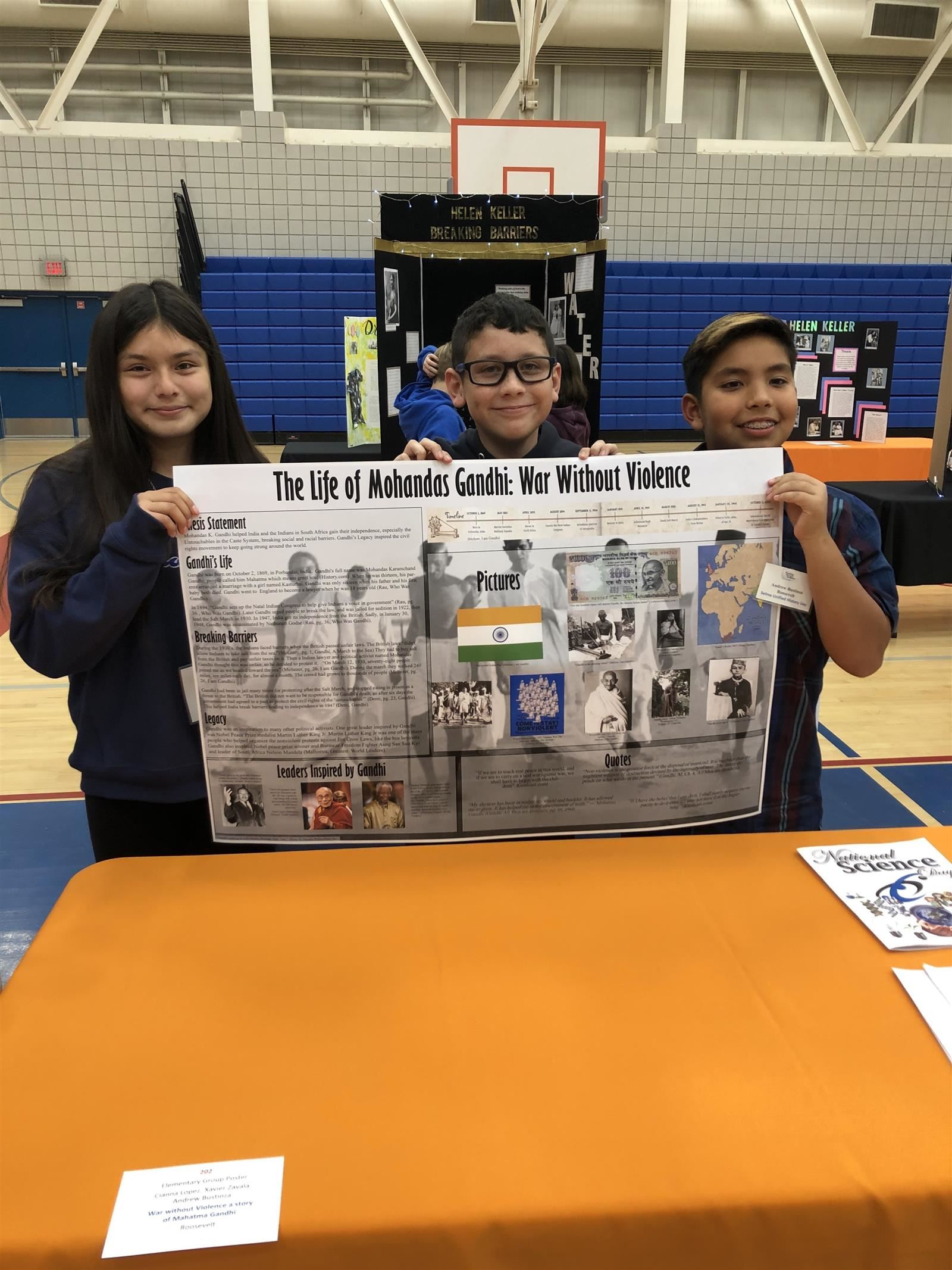 Roosevelt Students Compete in the State History Day Competition