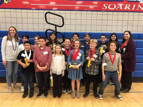 History and Science Fair participants