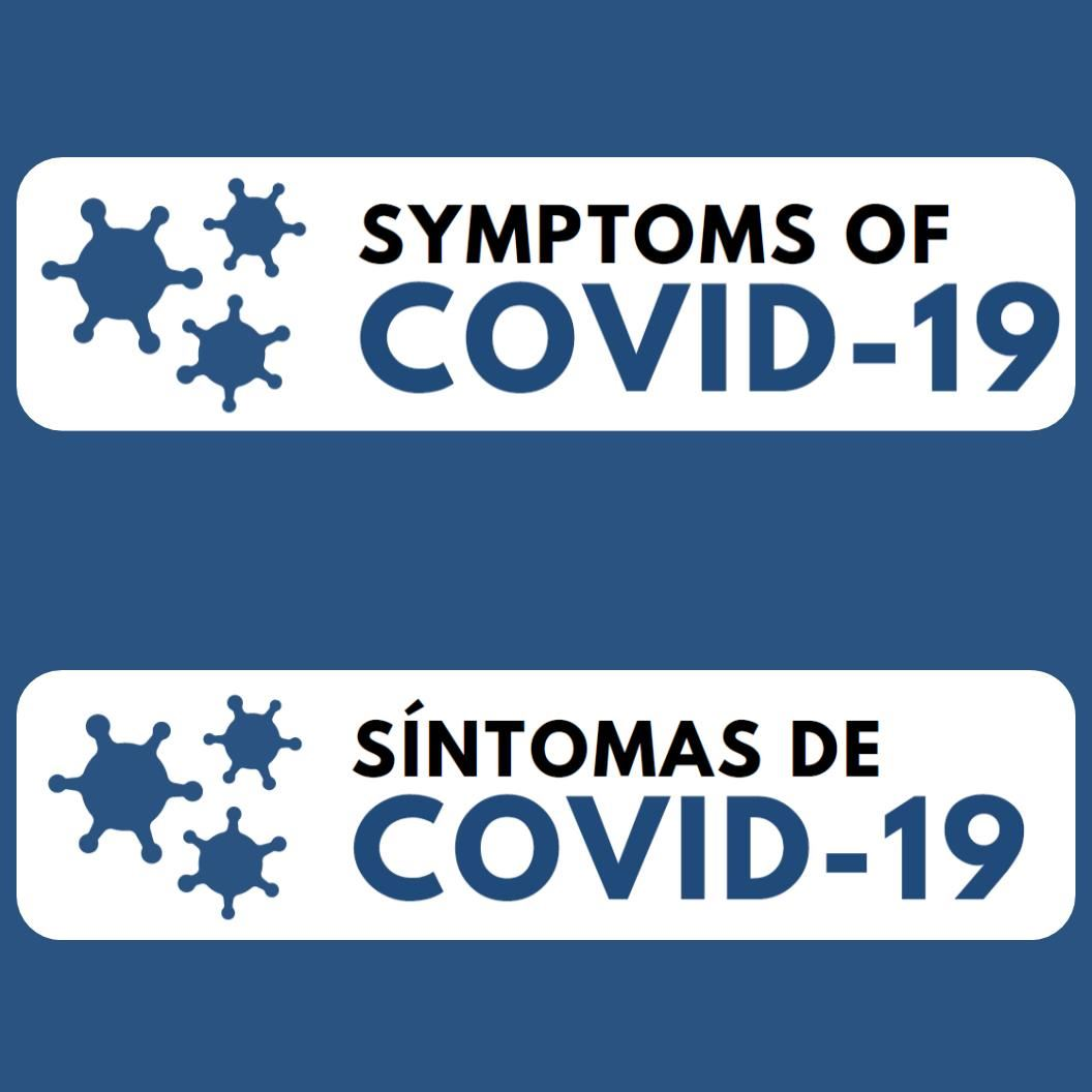 know the symptoms of covid 19
