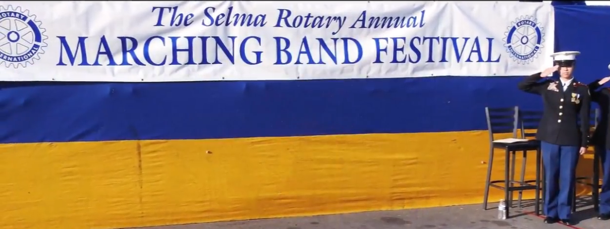 2018 Selma Rotary Club Marching Band Festival