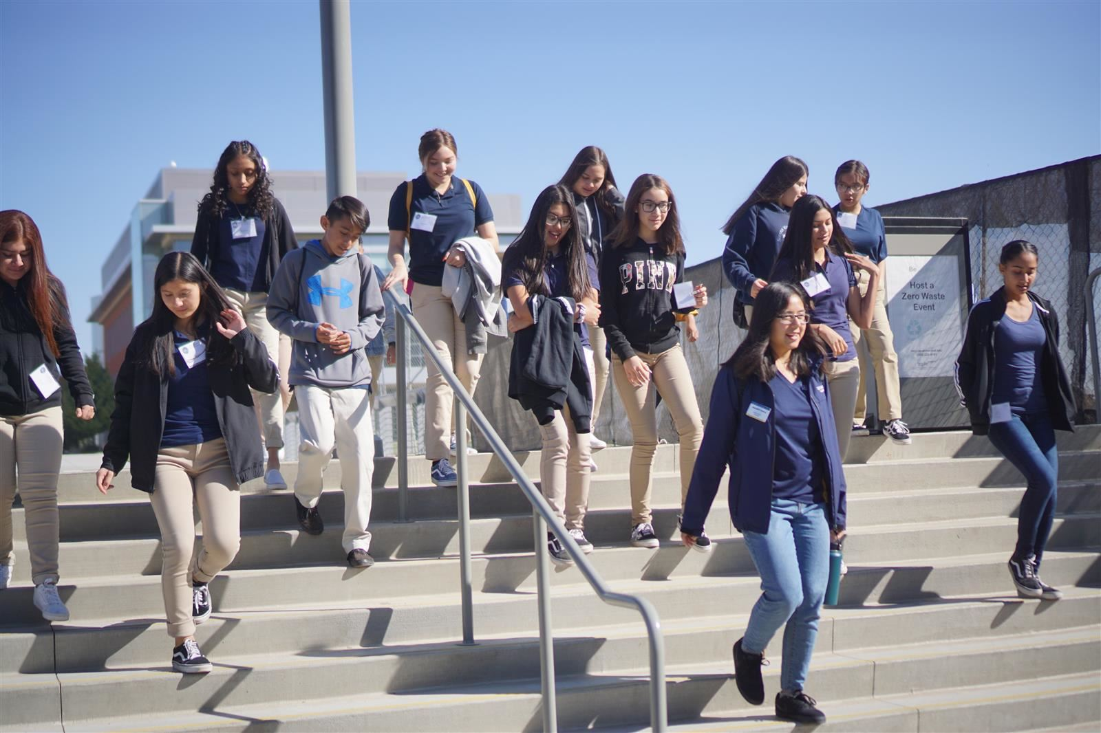 UCSF Doctors Academy Class of 2023 Visits UC Merced