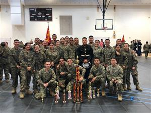 JROTC Drill Team qualifies for Nationals